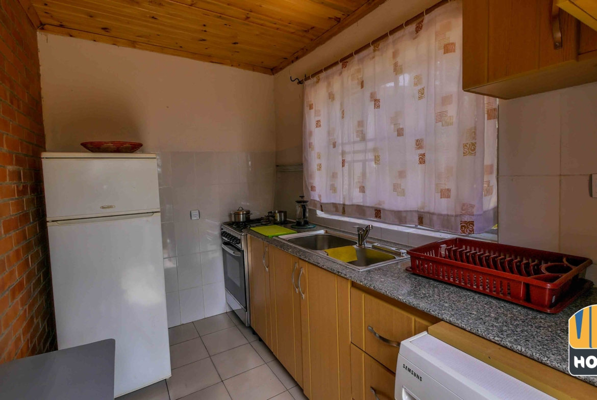 Studio apartment for rent in Kigali with modern Kitchen in