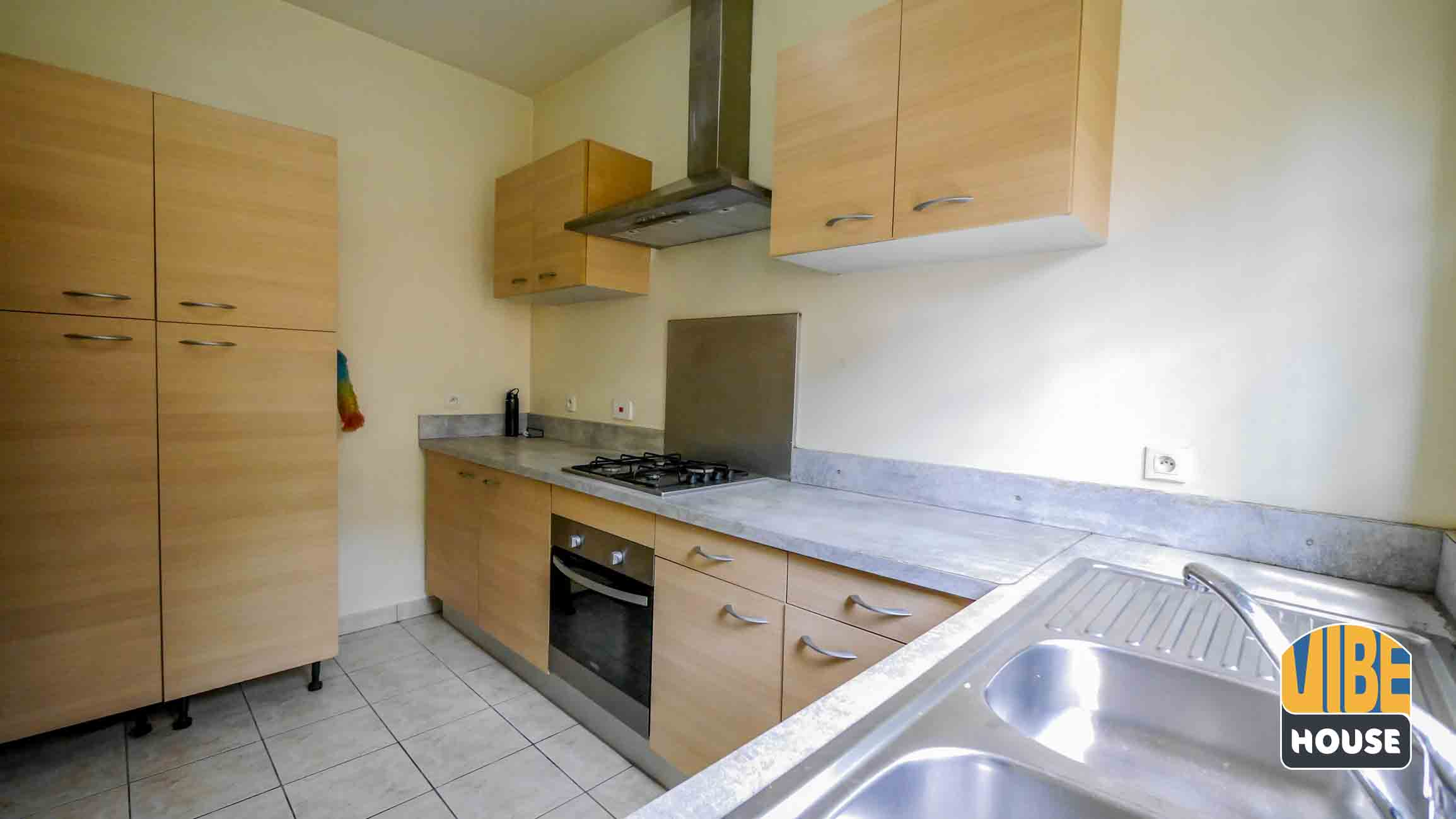 Modern Kitchen in house for rent with pool in Kibagabaga, Kigali