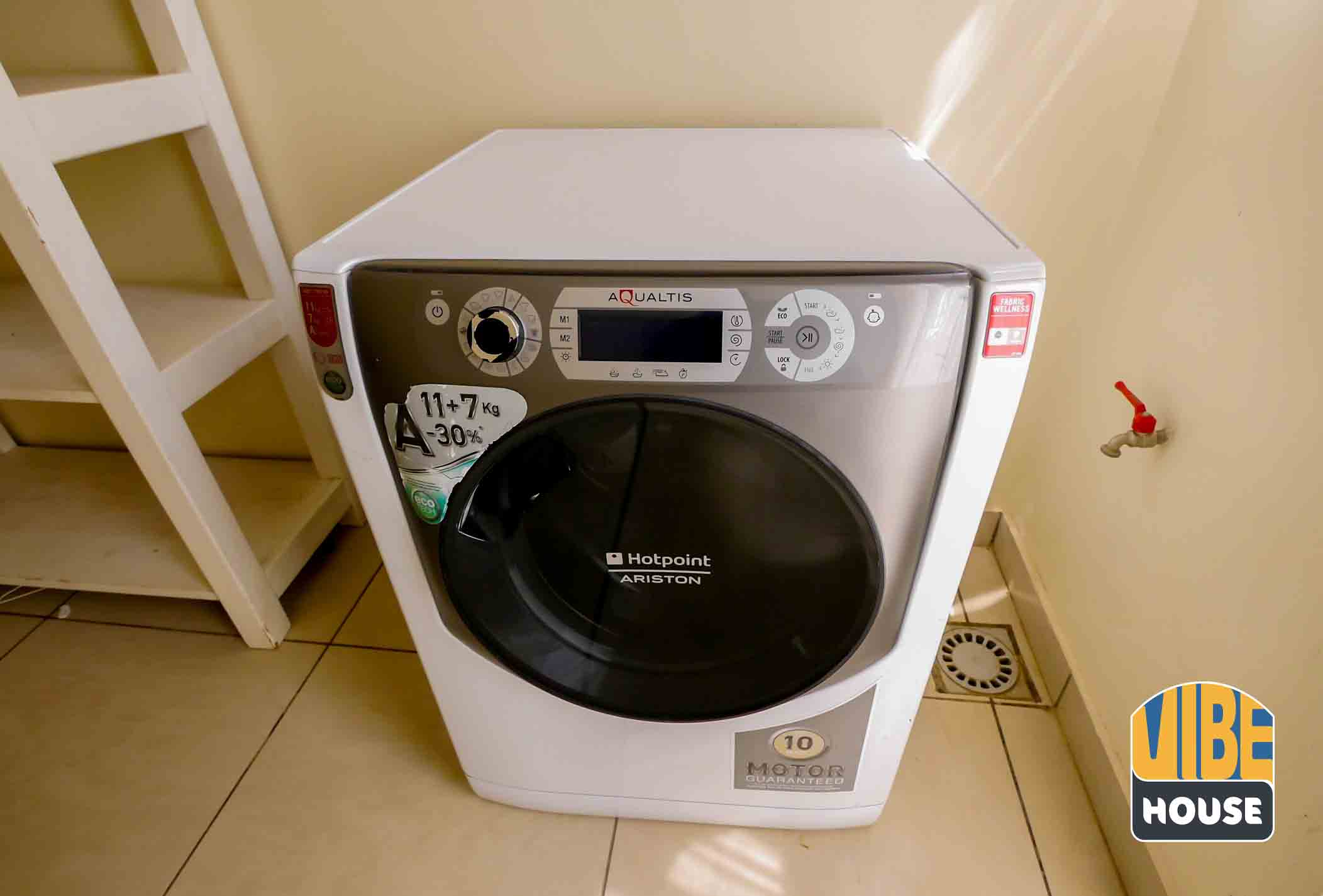Washing machine in house for rent with pool in Kibagabaga, Kigali