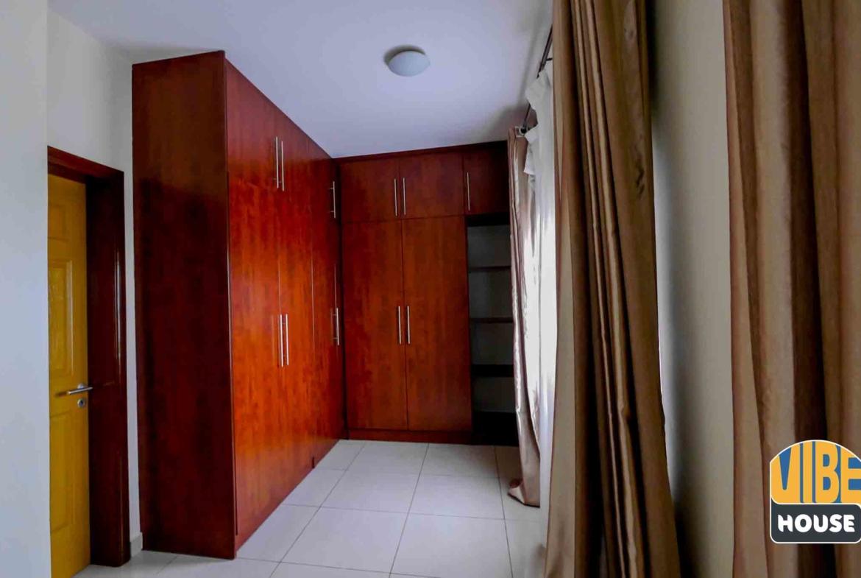 Large closet in master bedroom of house for rent in Kibagabaga, Kigali