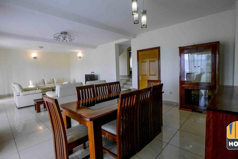 Elegant living room in house for rent in Kibagabaga, Kigali
