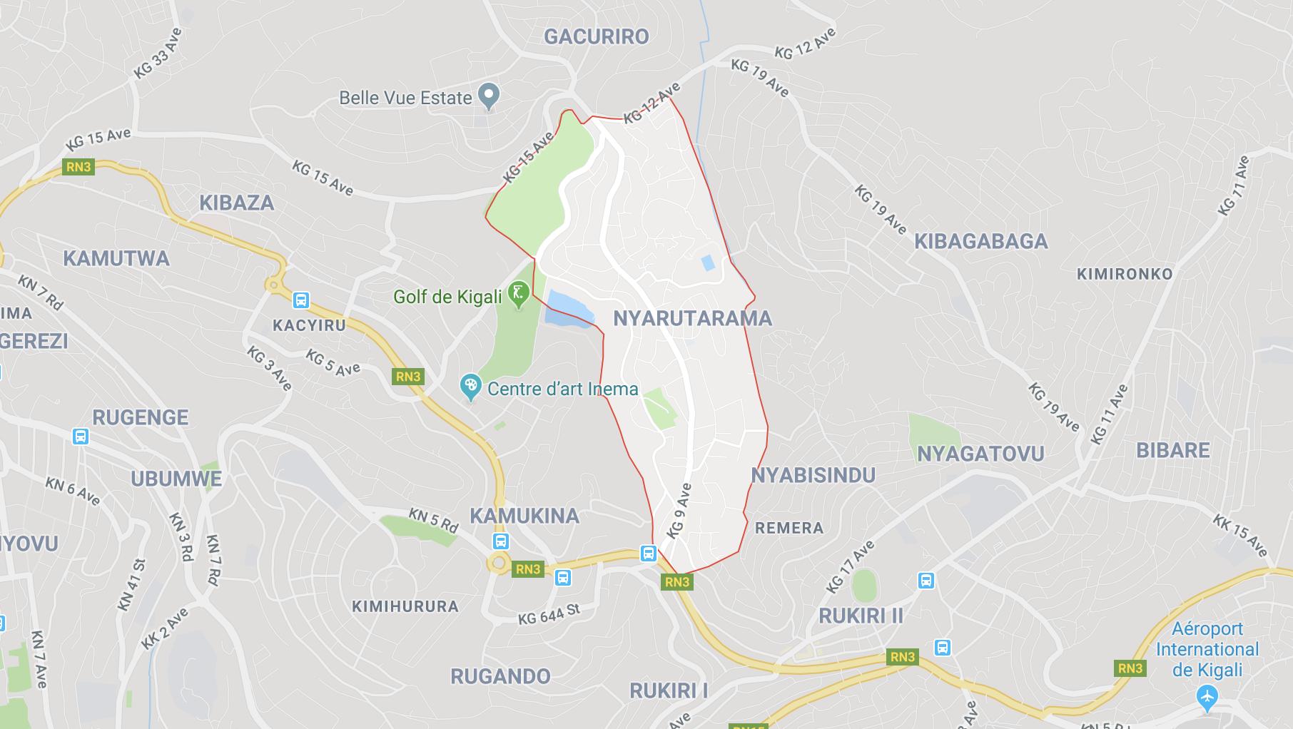 Nyarutarama Kigali House For Rent Sale