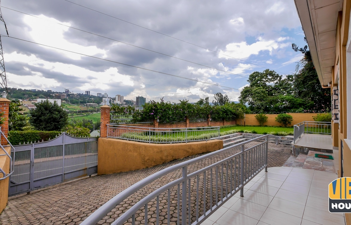 View of Kigali of house for rent in Kimihurura, Kigali