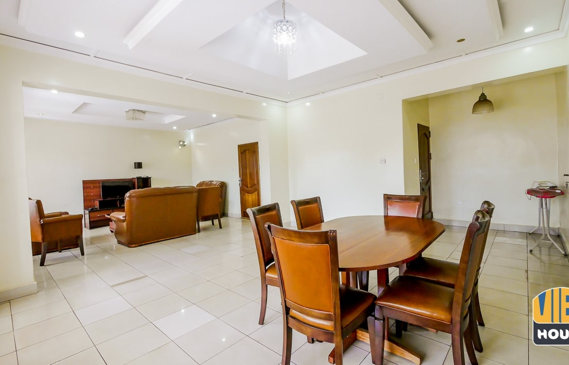 Dining room of house for rent in Kimihurura Kigali