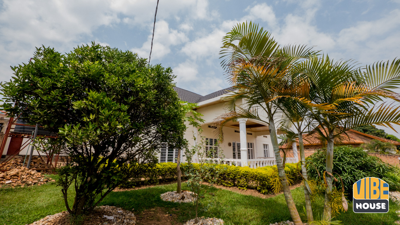 view of house from the large garden