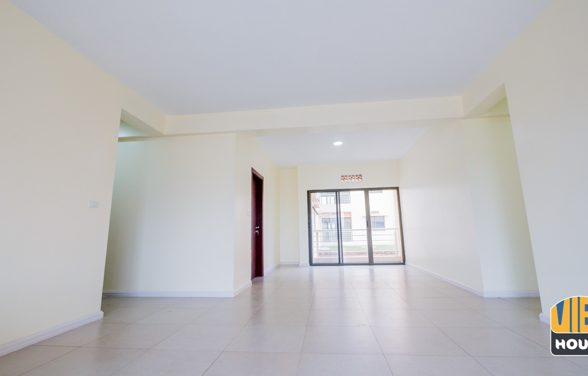 Living room of apartment for rent in Vision City Kigalli