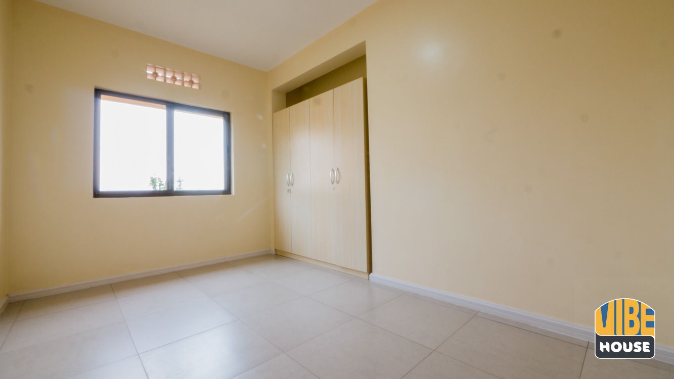 In-built closet of bedroom - Apartment for rent in Kigali