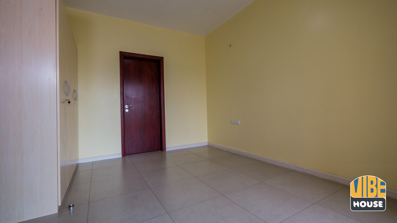 Bedroom of apartment for rent in Kigali