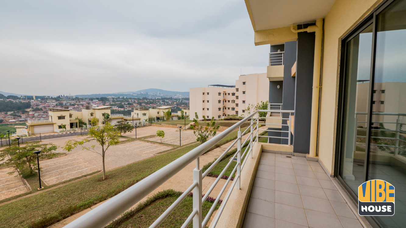 Apartment for rent in Gacuriro Balcony