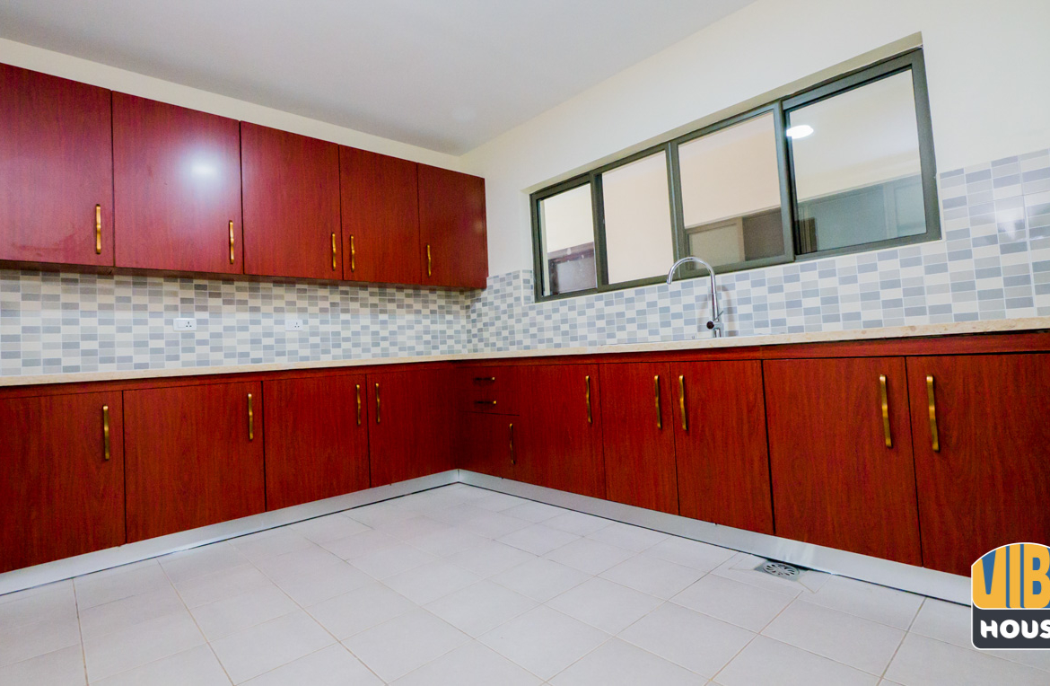 Kitchen of apartment for rent in Vision City Kigali
