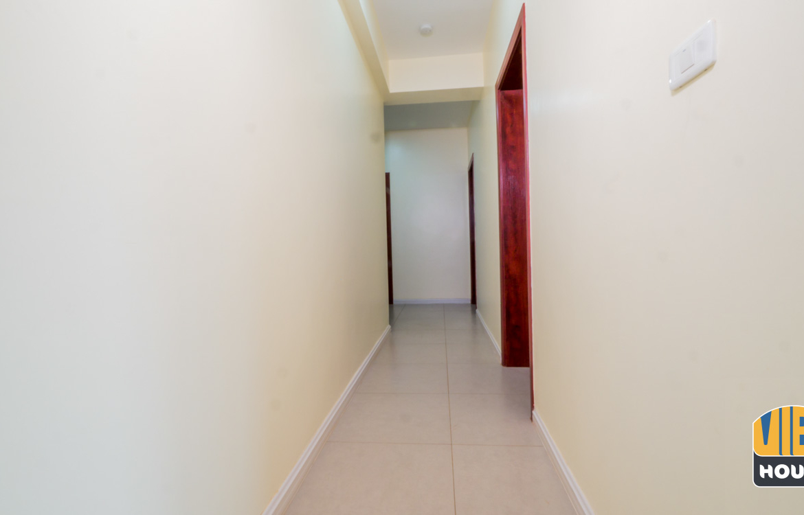 Corridor view of apartment for rent in Gacuriro Kigali