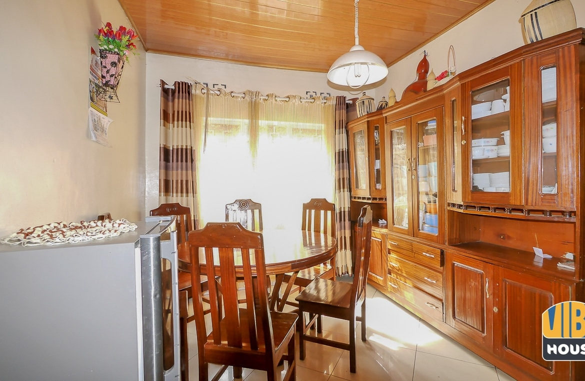 Dining room of house for sale in Nyamirambo, Kigali