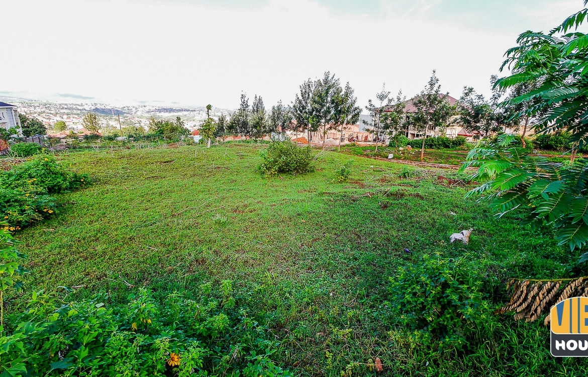 front view of plot of land for sale in Kagarama
