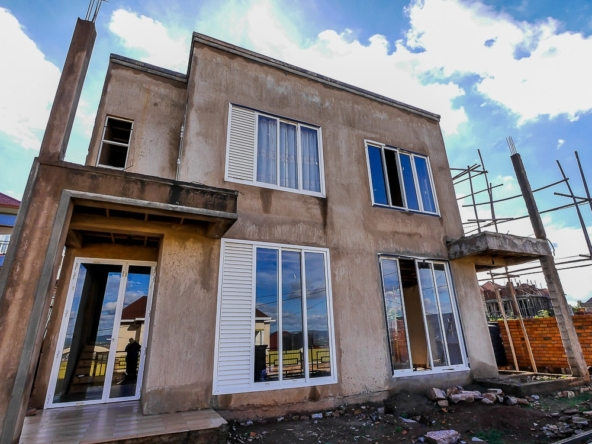Unfinished twin house for sale in Kagarama, Kigali