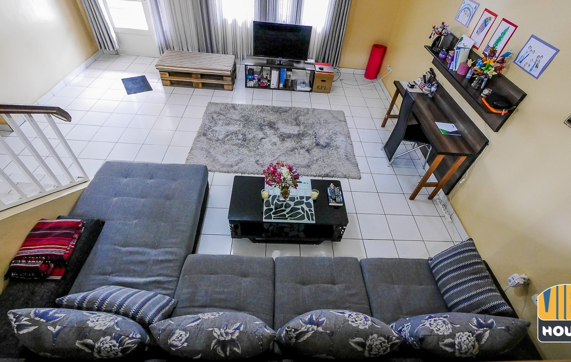 Fully furnished house for rent in Gacuriro with flatscreen TV