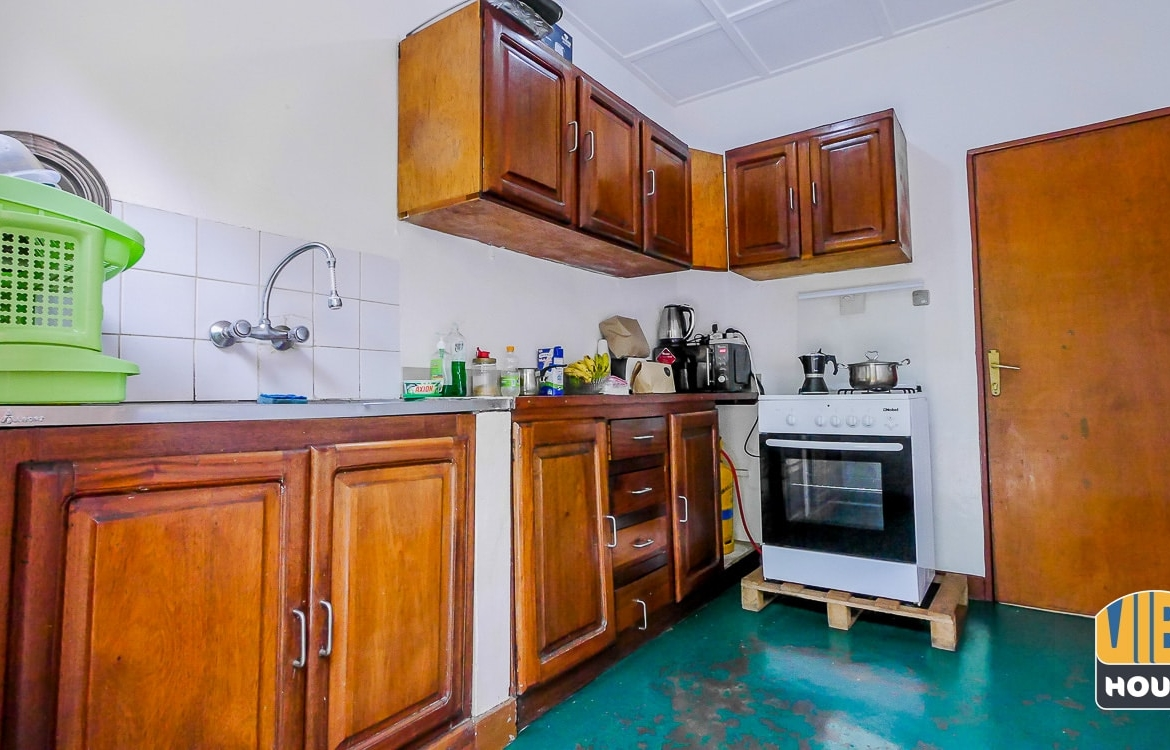 Modern Kitchen of furnished house for rent in Gacuriro, Kigali