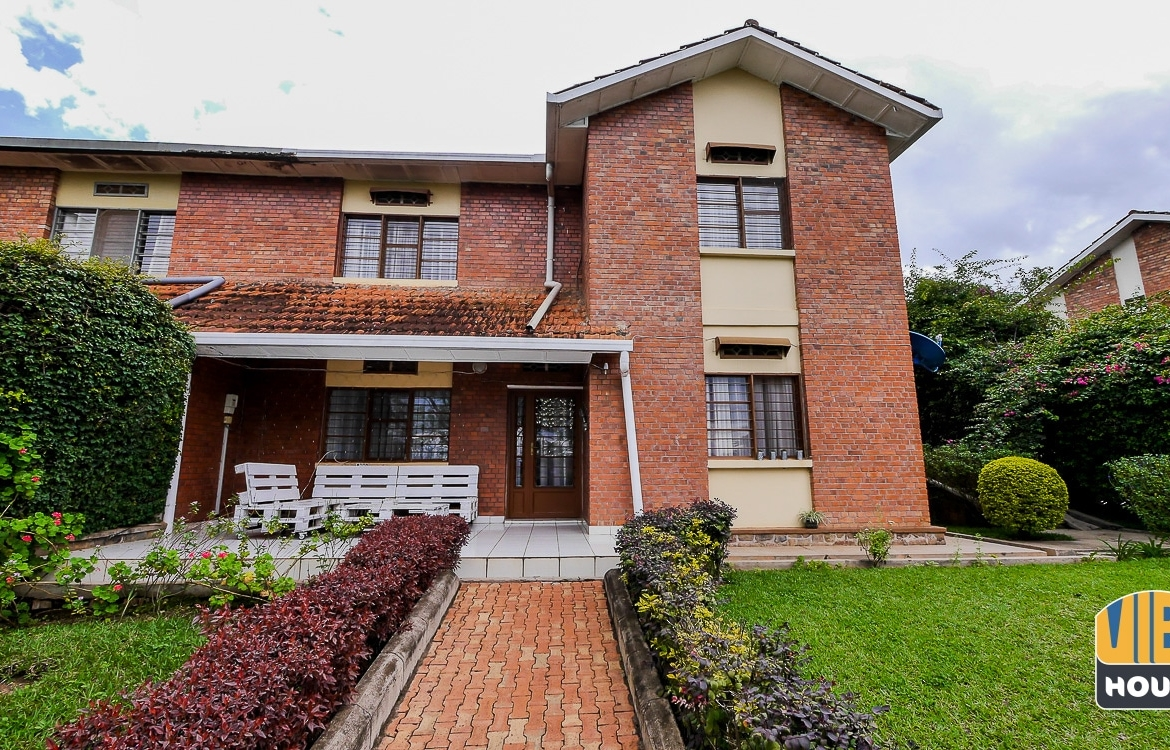 Front view of house for rent in Gacuriro, Kigali