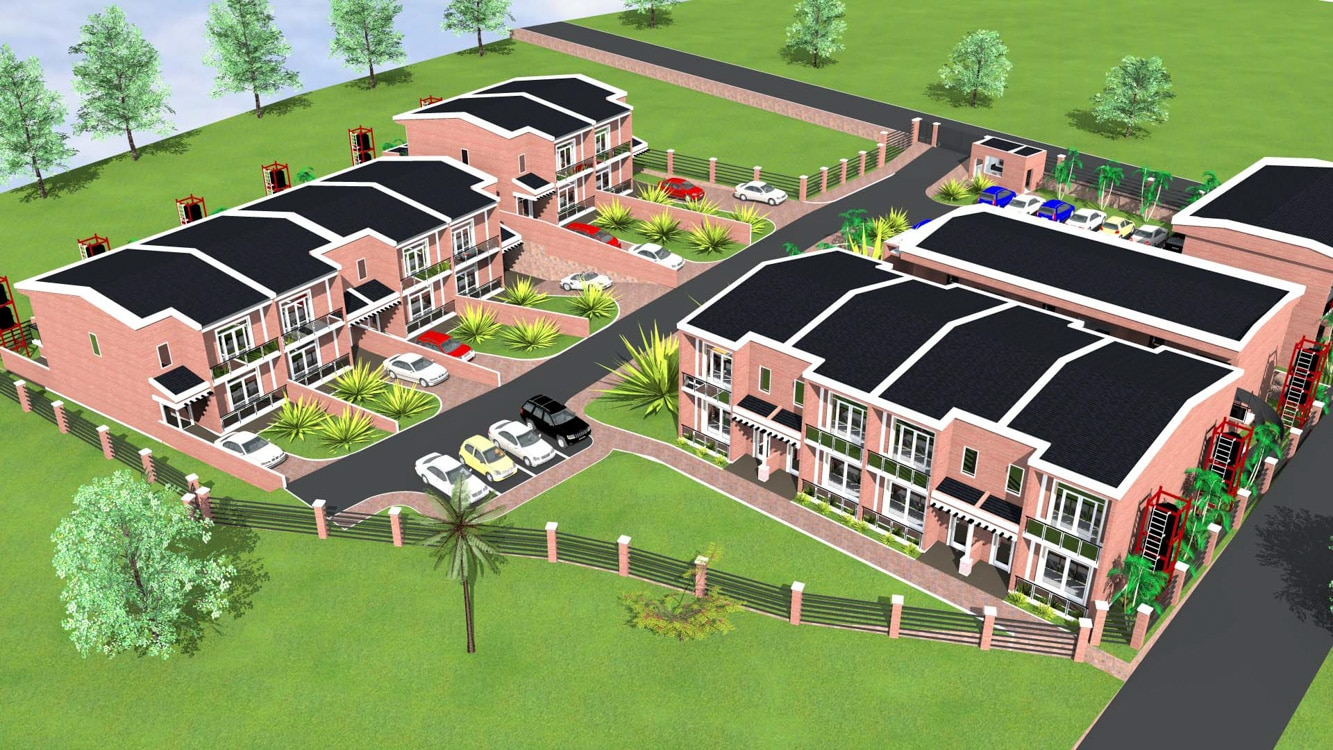 Valleyview Estate Plan: townhouses for sale in Gisozi, Kigali