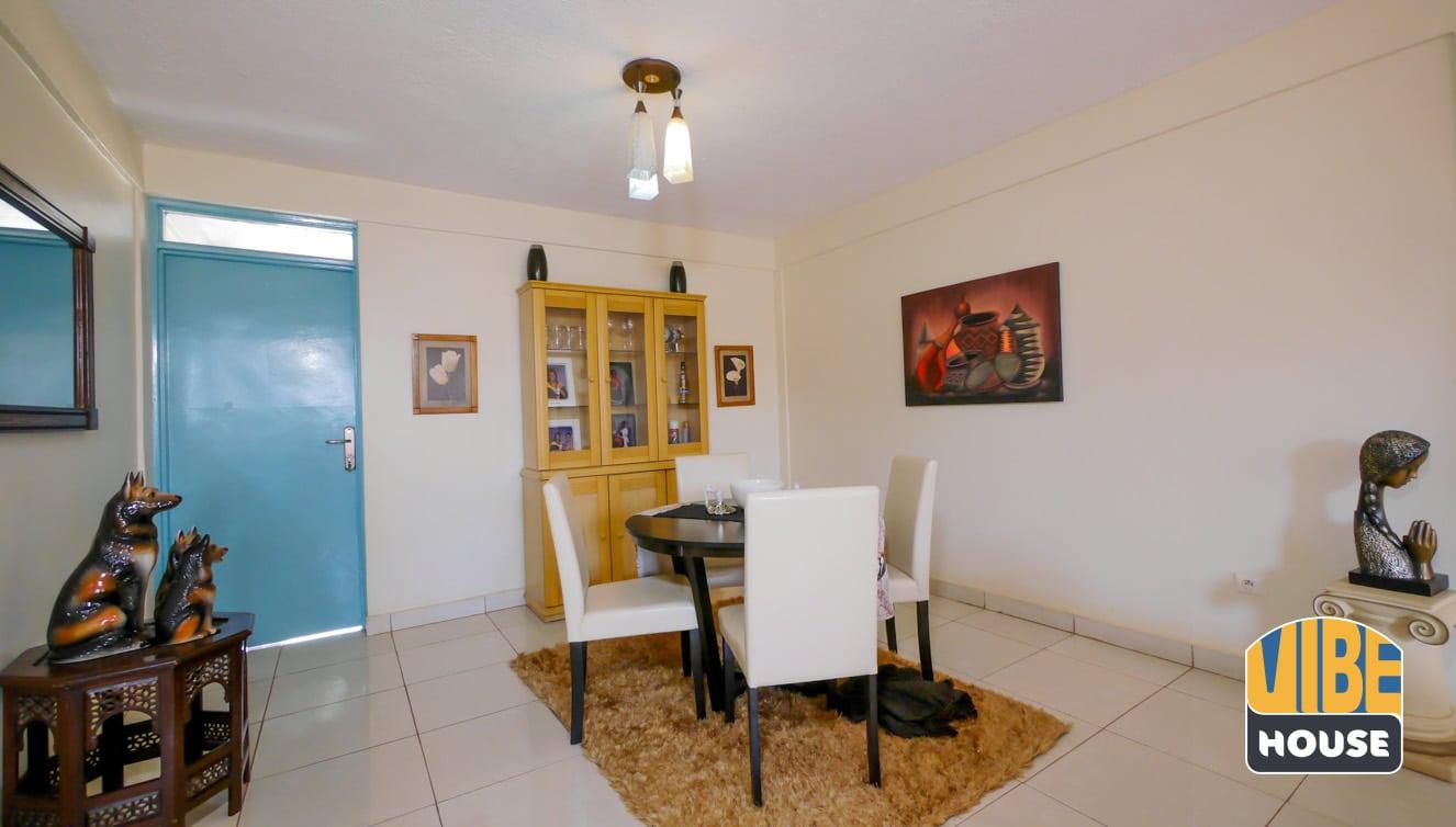 Dining area with beautiful interior design