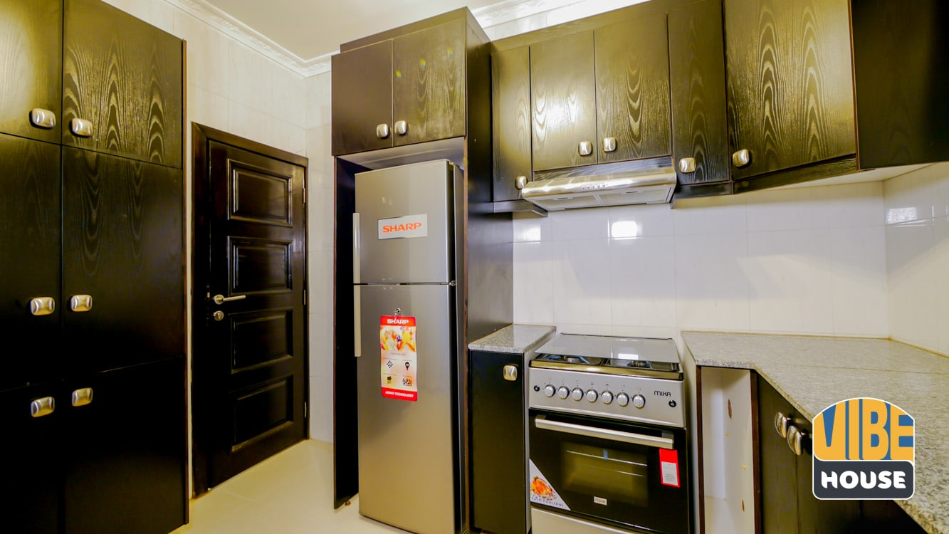 Modern Kitchen in Luxurious House for rent in Kicukiro
