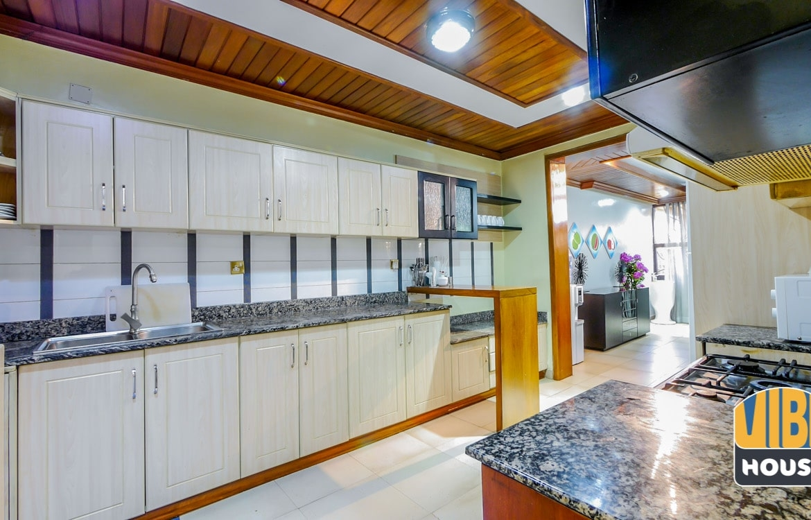 Large Kitchen in Townhouse for Sale in Kacyiru, Kigali