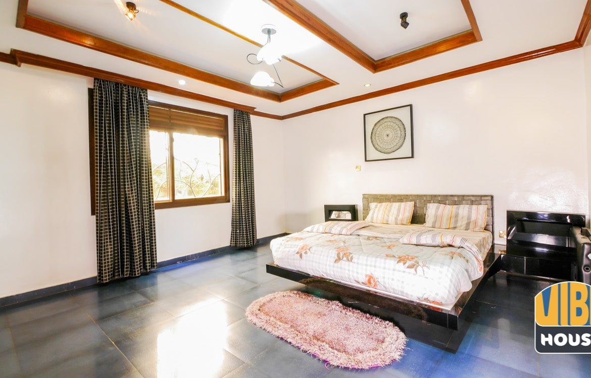 Master bedroom in Townhouse for Sale in Kacyiru, Kigali