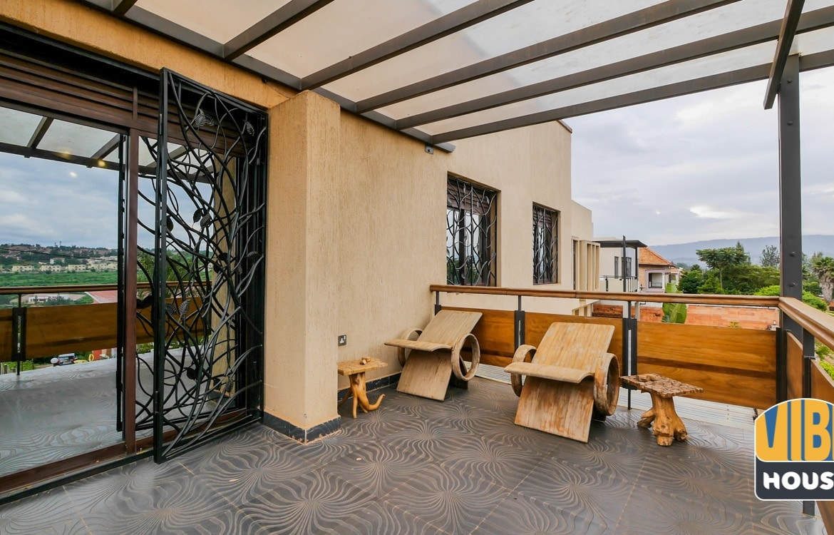 Terrace at Townhouse for Sale in Kacyiru, Kigali