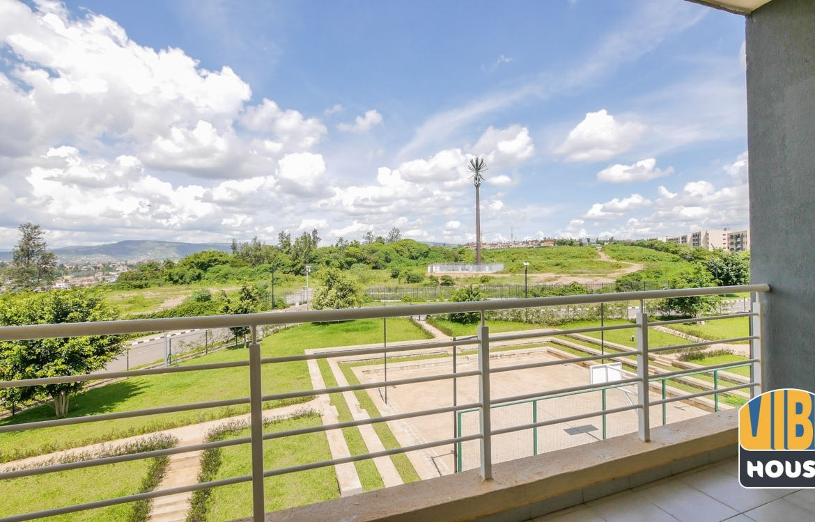 picturesque view from apartment for rent in vision city Gacuriro, Kigali