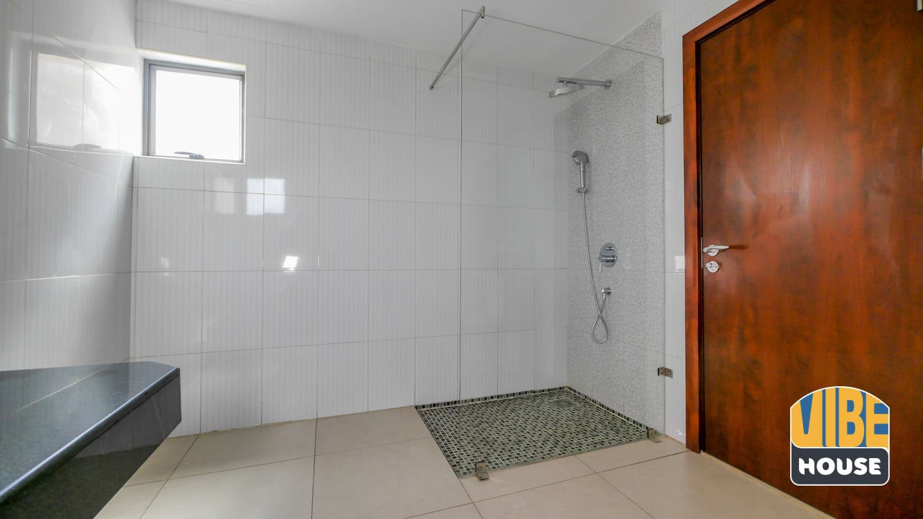 Master bathroom in apartment for rent in vision city Gacuriro, Kigali