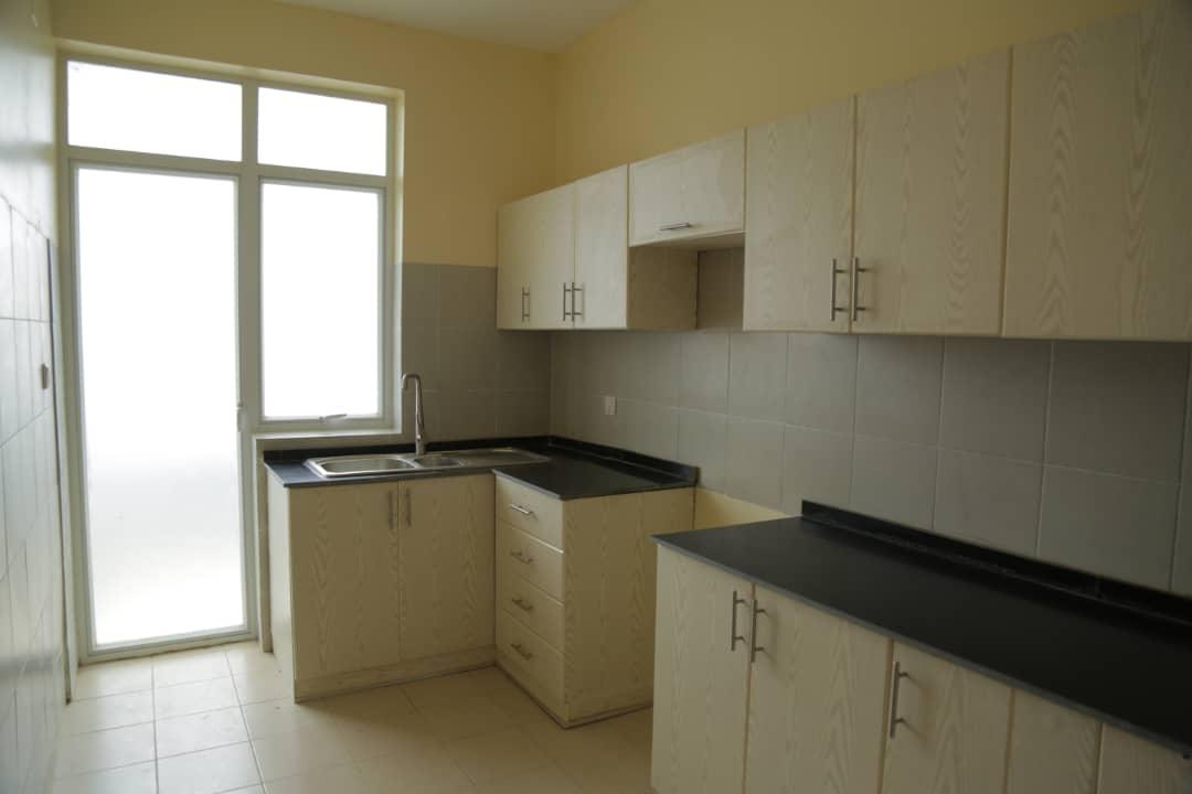 Modern kitchen in apartment for sale in Nyarutarama, Kigali