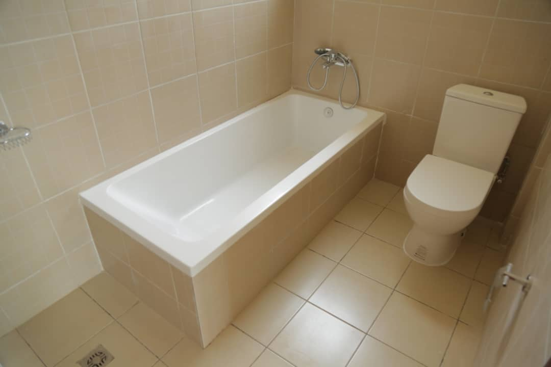 Master bathroom in apartment for sale in nyarutarama