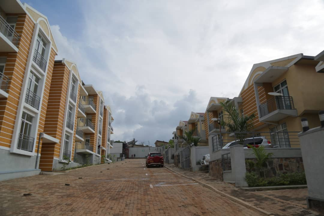 Ample parking space in apartment for sale in Nyarutarama, Kigali