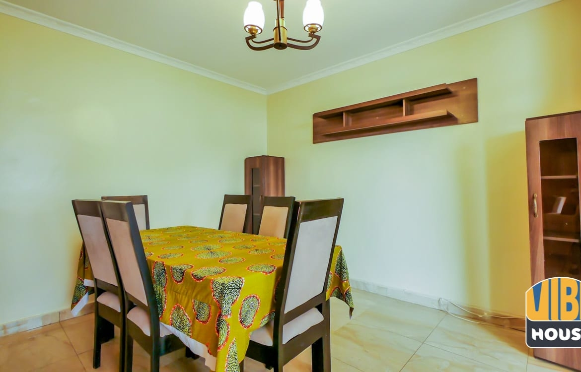 House for rent in vision 2020 estate, Kigali with African Decor