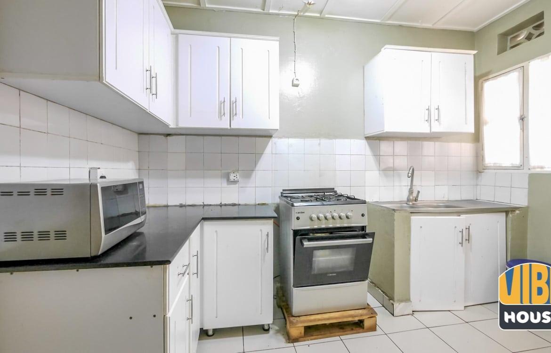 Modern Kitchen in House for rent in vision 2020 estate, Kigali