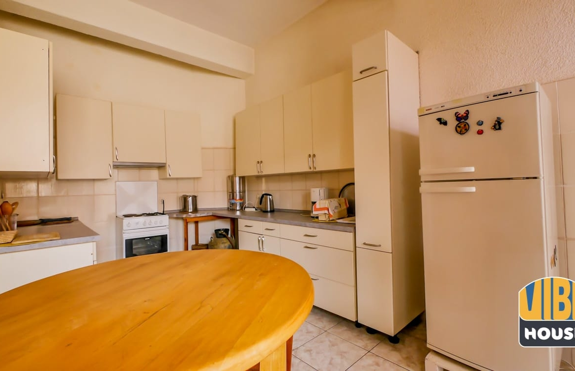 Modern Kitchen in Property for Sale with 3 apartments in Nyarutarama, Kigali