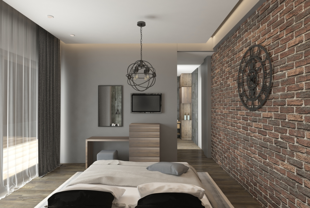 Guest Bedroom in Apartment for Sale at Baraka Residence in Nyarutarama, Kigali