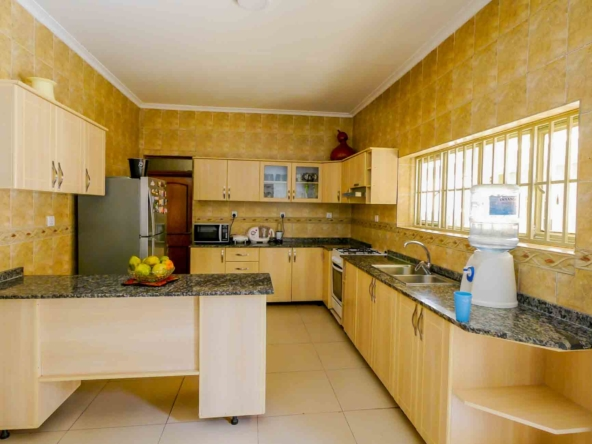 Fully Furnished House for rent in Kibagabaga, Kigali