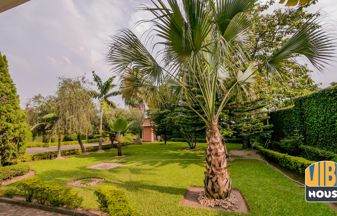 Beautiful garden in Ultimate Luxurious Villa for rent in Gisozi, Kigali