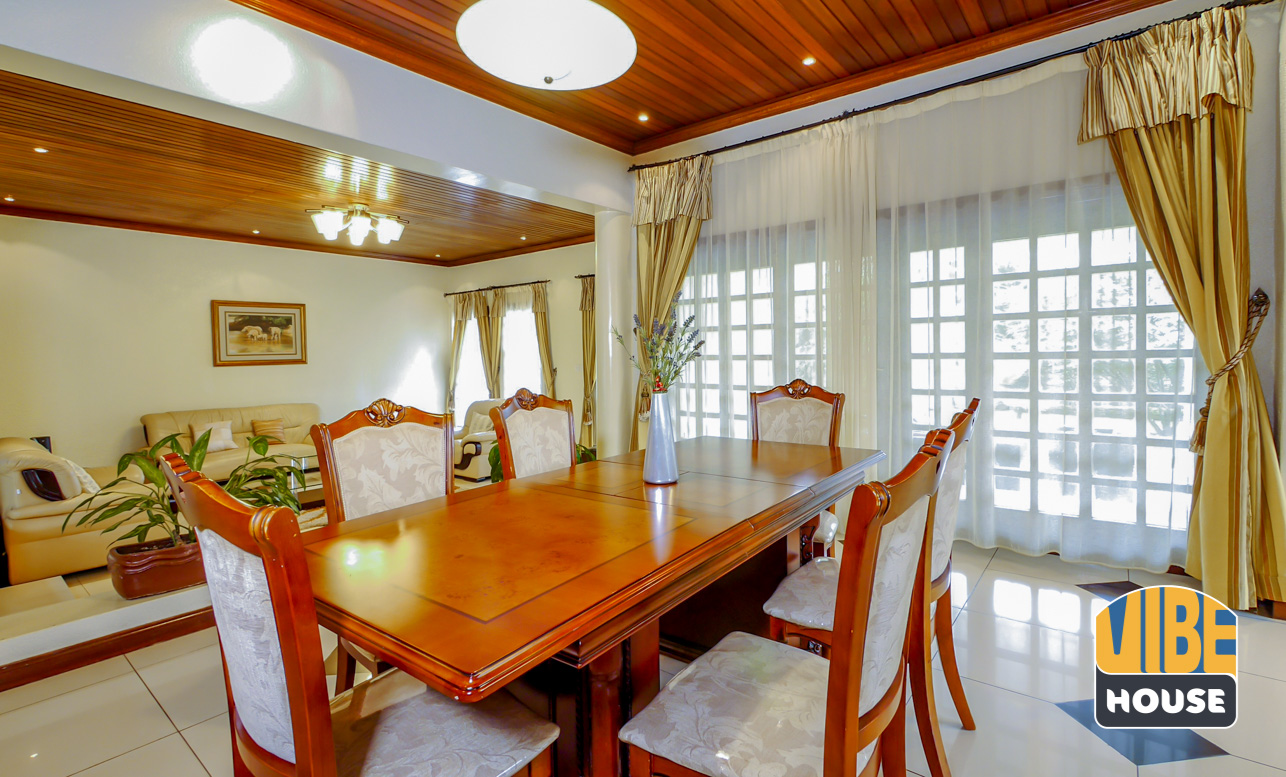 Dining room 1: Ultimate Luxurious Villa for rent in Gisozi, Kigali