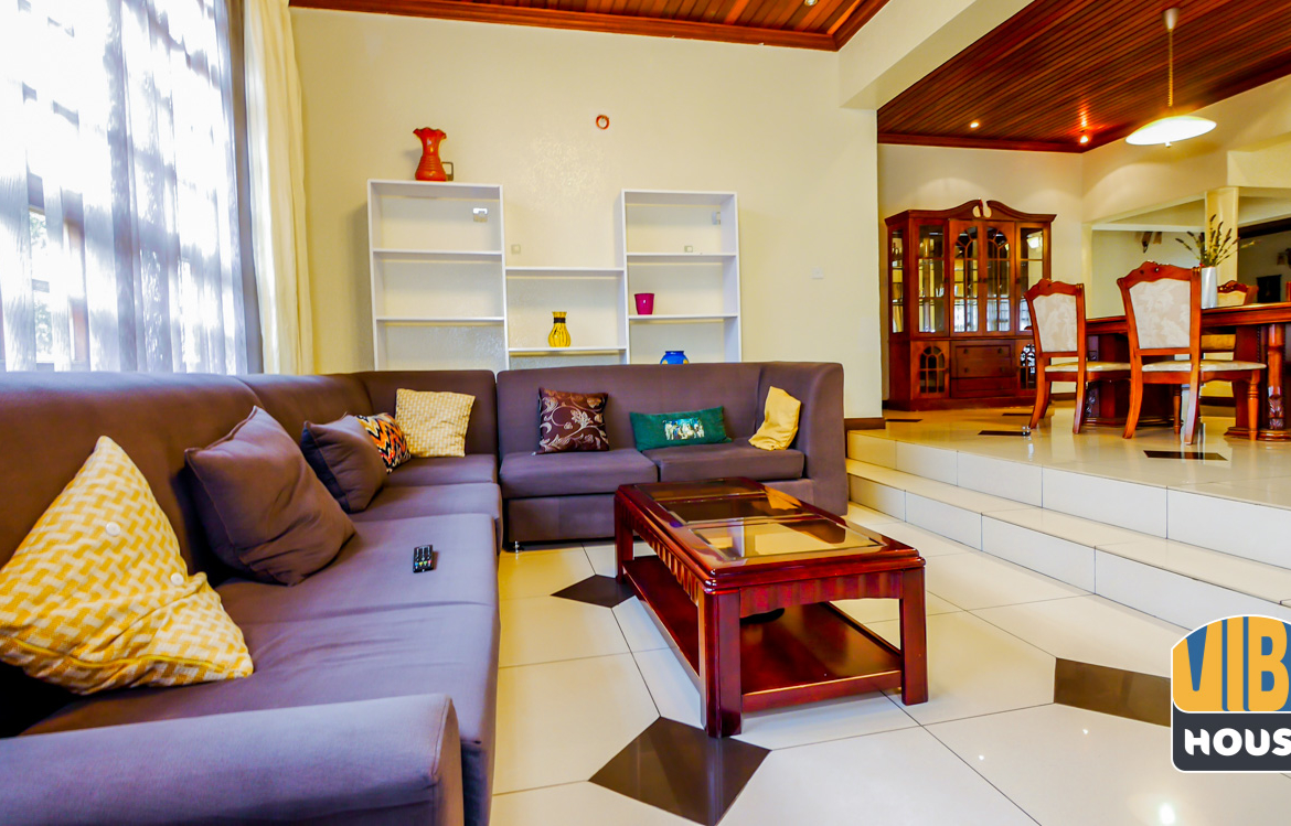Living room 2: Ultimate Luxurious Villa for rent in Gisozi, Kigali