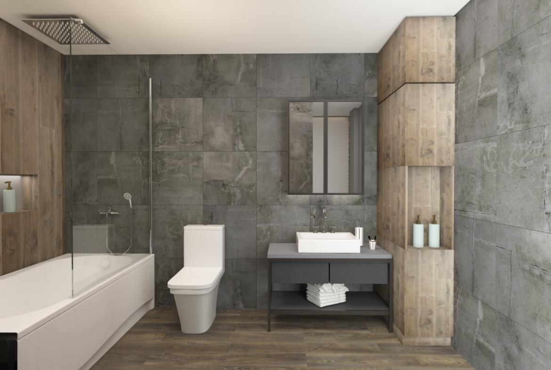 Master bathroom: Penthouse Apartment for Sale at Baraka Residence in Nyarutarama, Kigali