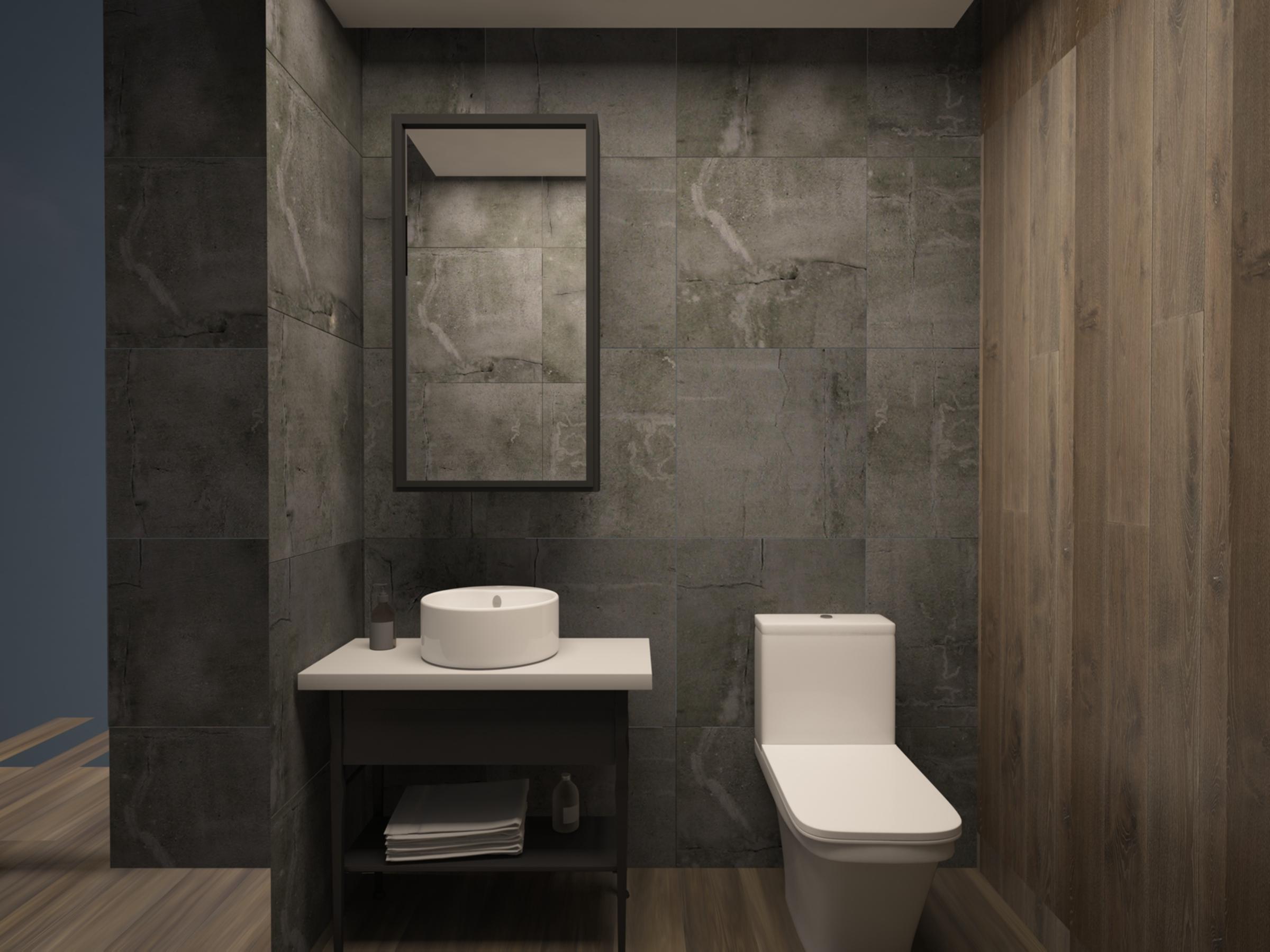 Bathroom in Apartment for Sale at Baraka Residence in Nyarutarama, Kigali
