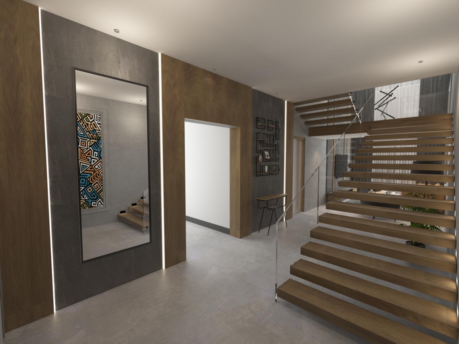 Entrance: Penthouse Apartment for Sale at Baraka Residence in Nyarutarama, Kigali