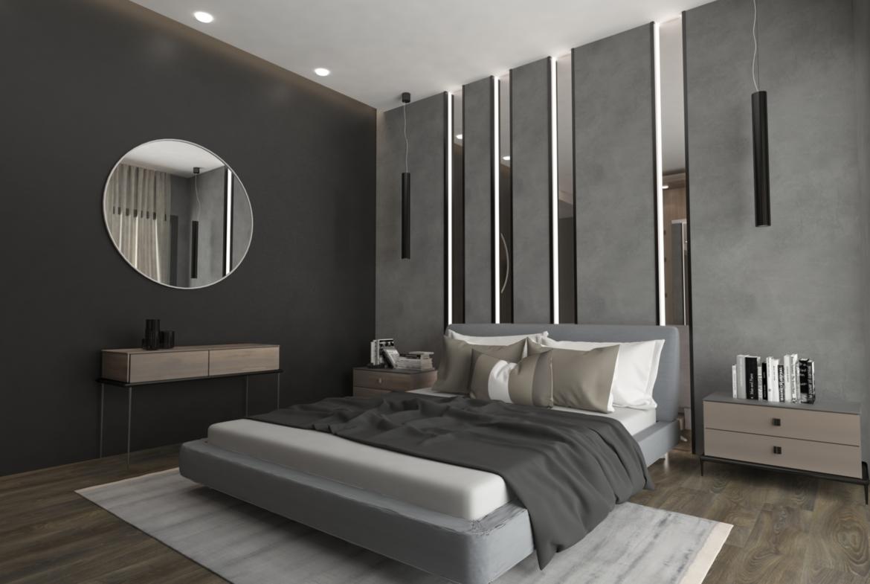 Ground Masterbedroom: Penthouse Apartment for Sale at Baraka Residence in Nyarutarama, Kigali