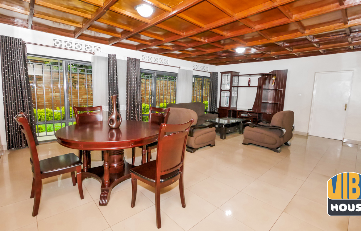 Living area: House for rent in Nyamirambo