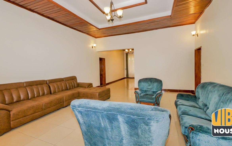 Living room of house for rent in Kibagabaga