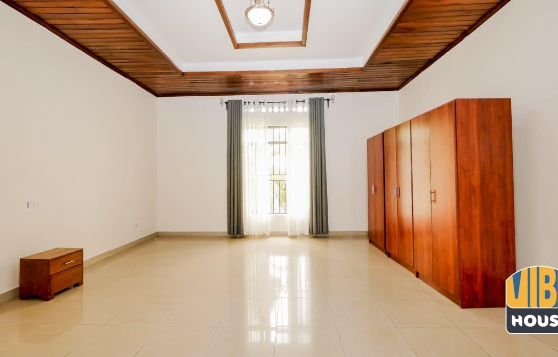 Master bedroom of house for rent in Kibagabaga