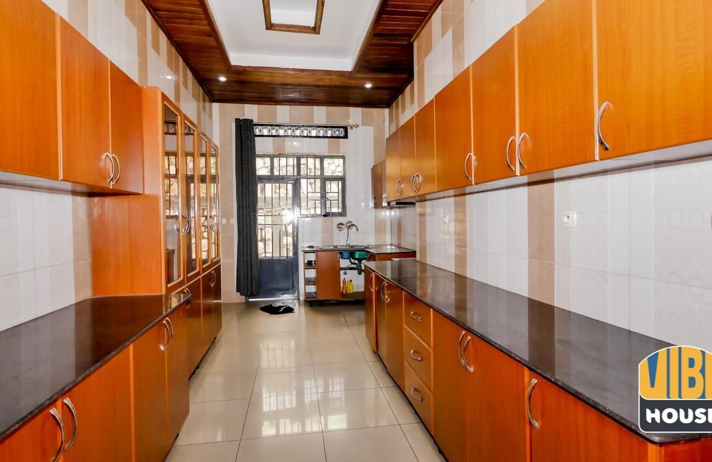 Kitchen of house for rent in Kibagabaga