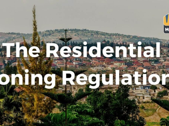 The Residential Zoning Regulations in Kigali Kigali Masterplan 1
